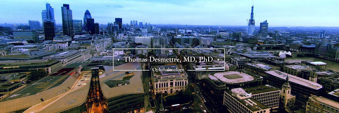 Thomas Desmettre, MD, PhD